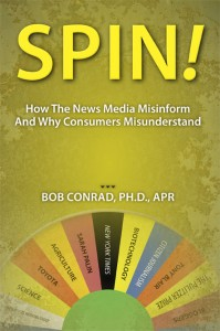 Cover of Spin by Bob Conrad