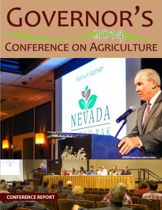 2014 Nevada Governor's Conference on Agriculture Report